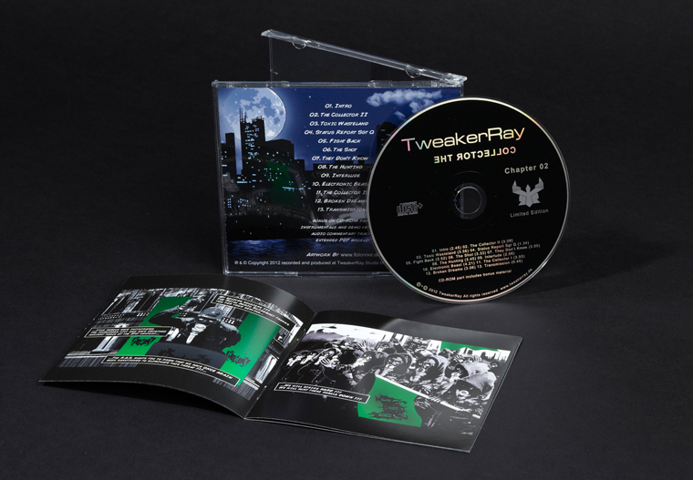 TweakerRay - The Collector Chapter 02 DELUXE CD